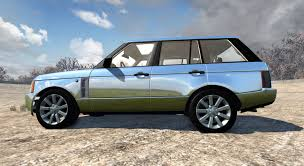 chrome range rover sport rover supercharged 2008 chrome for beamng drive