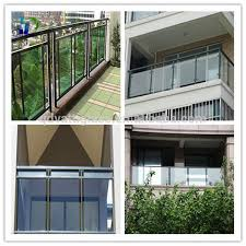 balcony railing design glass balcony tempered glass fence and