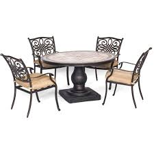 Octagon Patio Table by Amazonia Milano 5 Piece Octagon Patio Dining Set Bt Octo Set The