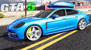 stanced porsche panamera grand theft auto v mods racing with porsche panamera 2017 gtav