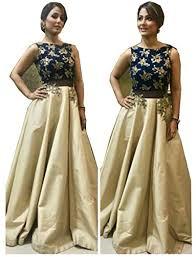 diya saree womens u0027s cream tapeta silk attractive indo western