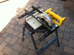 convert circular saw to table saw turn your circular saw into a miter saw tool rank com