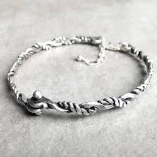 silver bracelet wire images Handmade sterling silver twisted bangle bracelet by lizardi jewelry jpg