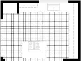 kitchen floor plans islands the basics of kitchen floor planning