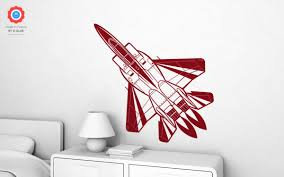 fighter plane xl wall decal nursery kids rooms wall decals boy