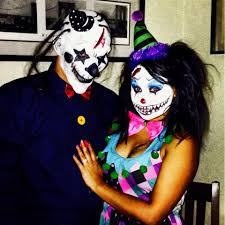 couples halloween costume scary clowns halloween pinterest