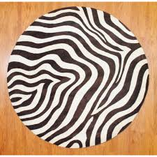 Sams Outdoor Rugs by 28 Zebra Round Rug Zebra Border Round Rug Furniture Amp