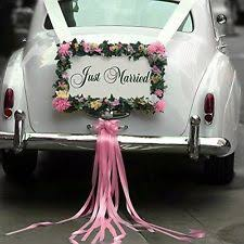 wedding car decorations wedding car decoration ebay