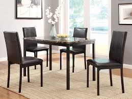 Black Wood Dining Room Chairs by Amazon Com Homelegance 2601s Bi Cast Vinyl Upholstered Dining