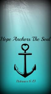 5x7 Love Anchors The Soul - we have this as a sure and steadfast anchor of the soul a hope