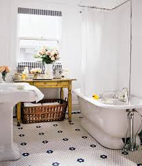 Modern Retro Bathroom Modern Vintage Small Bathroom Color Ideas Vintage Bathroom Bath
