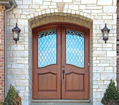 Double Front Entrance Doors by Front Doors Arched Top Mahogany Mansion Doors Mega 600 Series