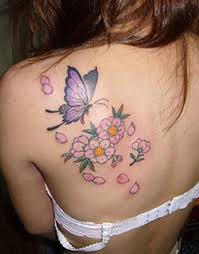 collection of 25 back shoulder butterfly for