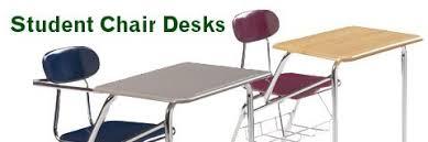 desk with attached chair student chair desks combo desks tablet arm chair desks