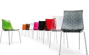 sedie calligaris sedia in plastica con struttura in metallo modello di calligaris
