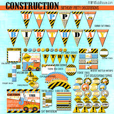 construction party printable collection mimi u0027s dollhouse