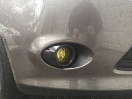 lexus gs yellow fog lights fog light thoughts page 3 ford focus forum ford focus st