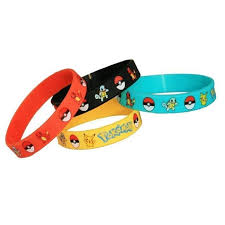 rubber wrist bracelet images Pokemon rubber wristbands pokemon party supplies this party jpg