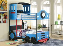 bedroom bunk bed kmart com blue express rail twin over space
