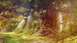 beautiful tree house fantasy fairy tale images pictures hd photos