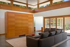 chic wheeler residence living room interior featured near ceiling