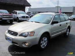 opal car 2005 subaru outback 2 5i wagon in champagne gold opal 387218