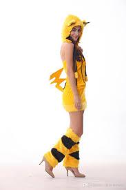 wholesale halloween costumes promo code free shipping wholesale halloween costumes yellow picacho cosplay performance