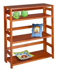 amazon com regency flip flop 34 inch high folding bookcase