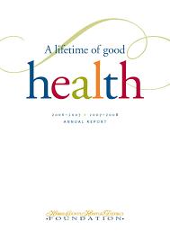 hchd annual report for 2006 2007 u0026 2007 2008 by hchd foundation