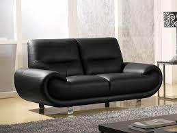 canapé 2 places en cuir canapé 2 places en cuir noir angie