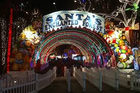 enchanted forest christmas lights 2016 christmas and holiday events in miami somos orlando florida