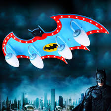 Batman Boys Bedroom Aliexpress Com Buy Remote Control Kids Led Lamp Child Ceiling