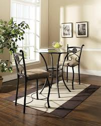 home design cool small 3 piece dining set bistro table and