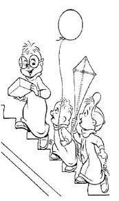 alvin chipmunks coloring pages learn coloring