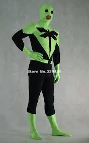halloween full body suit green body suit promotion shop for promotional green body suit on