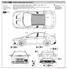 mitsubishi lancer drawing mitsubishi cz4a lancer evolution x final edition 15 model car
