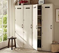 entryway lockers family lockers pottery barn