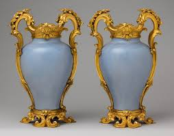 Vase French The Art Form And Function Of Gilt Bronze In The French Interior