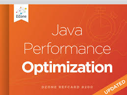 Space Optimization Java Performance Optimization Dzone Refcardz