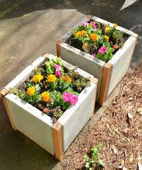 Concrete Planters Home Depot by Ana White Home Depot Dih Workshop Modern Paver Planter Diy