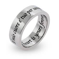 custom name ring wedding rings personalized name rings cheap engraved promise rings