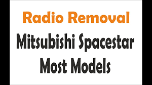 mitsubishi space star battery removal on mitsubishi images
