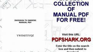 insignia tv owners manual pdf video dailymotion