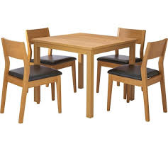 Square Wood Dining Tables Amusing Dining Table 4 Chairs Cozynest Home
