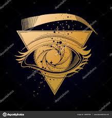 black hole with starry vortex u2014 stock vector homunkulus28 136081500