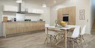 cuisine bois et blanc laqué plan de travail et cradence des idaes 2017 avec cuisine bois et