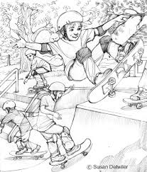 sketches cartoons susan detwiler