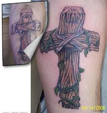 old wooden cross tattoos pictures to pin on pinterest tattooskid