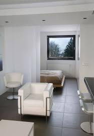 one room studio apartment design implementing modern apartment