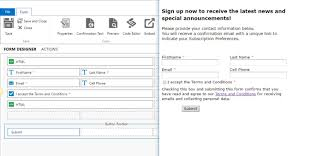 setting up a double opt in subscription management campaign